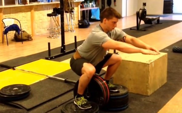 hip belt squat box