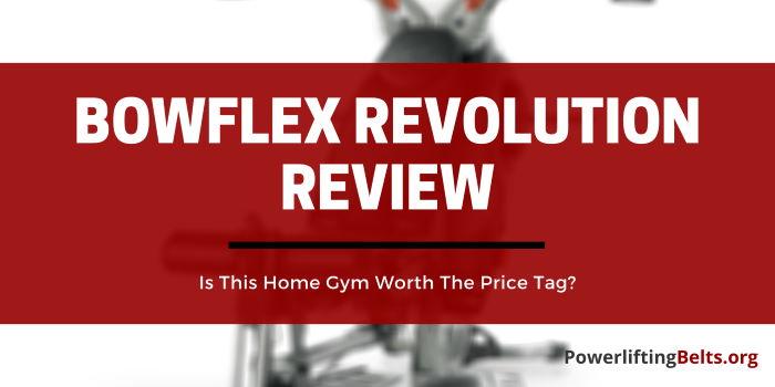 Bowflex Revolution review