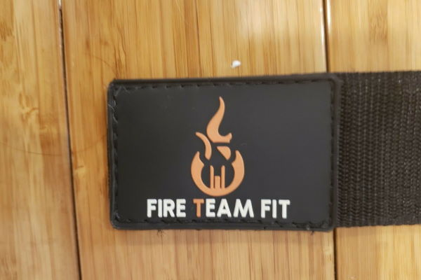 Fire Team Fit belt logo