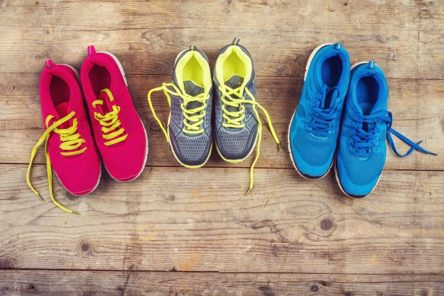 pairs of weightlifting shoes