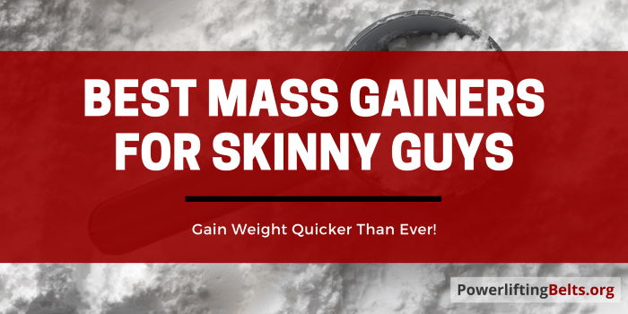 Best Mass Gainer For Skinny Guys