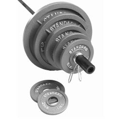cap barbell weight plates