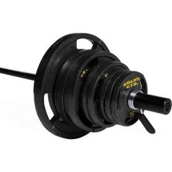 golds gym barbell package