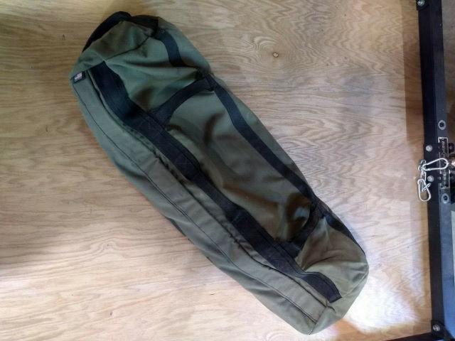 bottom of the Rogue Fitness sandbag
