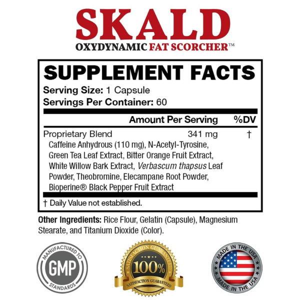 skald ingredients list