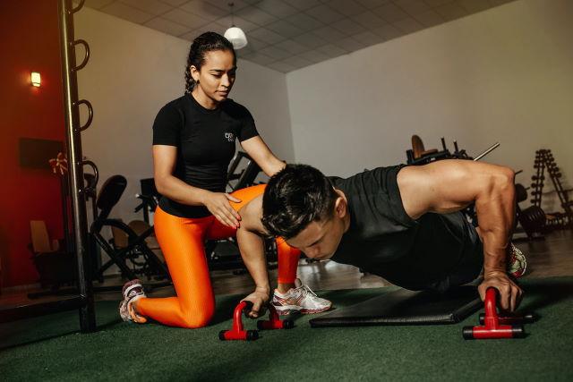 gym instructor