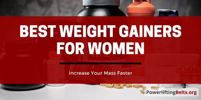 Top Women's Mass Gainers