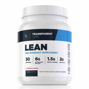 Transparent Labs lean preworkout